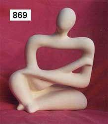 84A4 Piezas y esculturas en yeso
