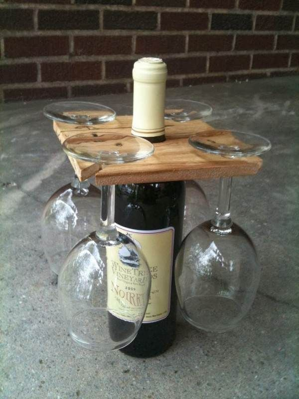 Wine Racks Made From Recycled Pallet Wood Wooden Pallets                                                                                                                                                                                 Mehr