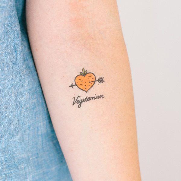 Best 25+ Vegetarian Tattoo Ideas On Pinterest