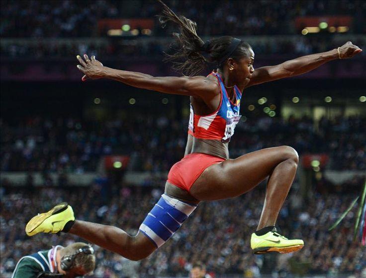 caterine ibarguen | Caterine Ibargüen medalla de plata olímpica