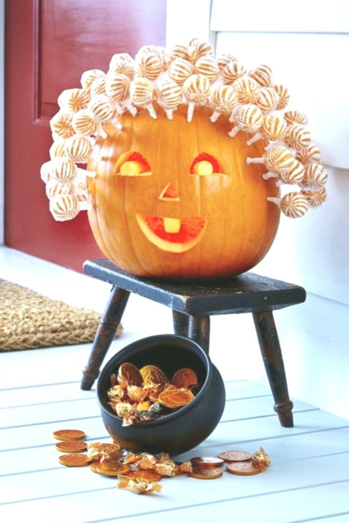 Halloween Kürbis – 40 ausgefallene Ideen, wie Sie Kürbisse zu Halloween in Sze…