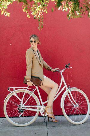 チャリの日も可愛く♡自転車女子の街乗りコーデ - NAVER まとめ