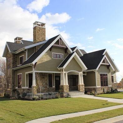 17 best images about craftsman house plans on pinterest for Craftsman custom homes