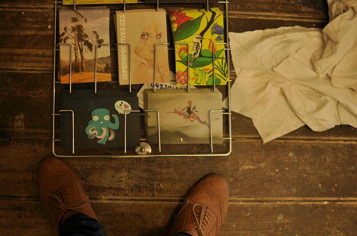 Post card art.