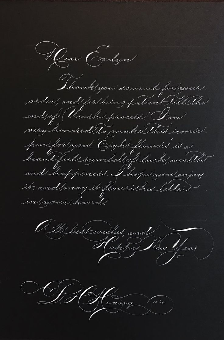 278 Best Calligraphy Pointed Pen Images On Pinterest