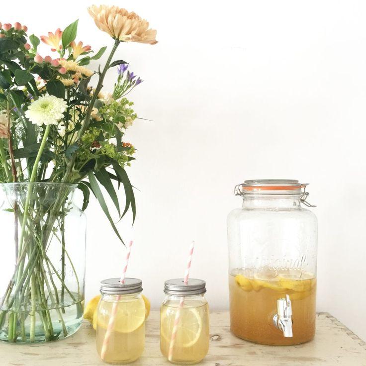 Bloomon und Limonade