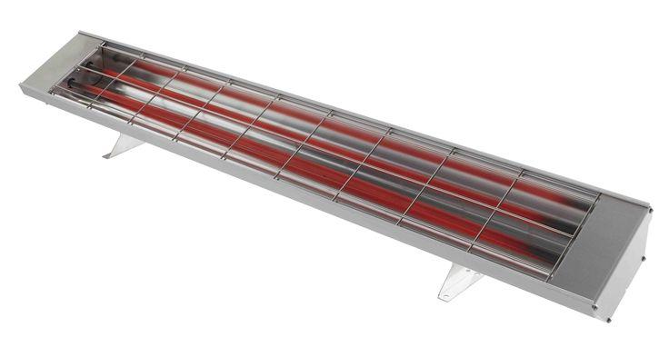 """HEATSTRIP Max """"low-glow"""" infra red outdoor heater"""