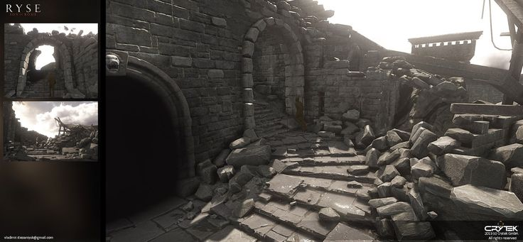 Ryse: Son of Rome environment - Polycount Forum