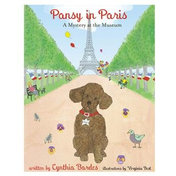 Pansy in Paris: A Mystery at the Museum. Pansy and Avery are off on a new adventure! They travel to Paris to solve a new mystery: who is stealing paintings from the museum? With only one clue and their boundless curiosity, the two follow the trail, foil the thieves, and recover the missing artwork - having great fun as they explore a beautiful city and enjoy its treasures. @PansythePoodle #kidsbooks #poodle #mystery