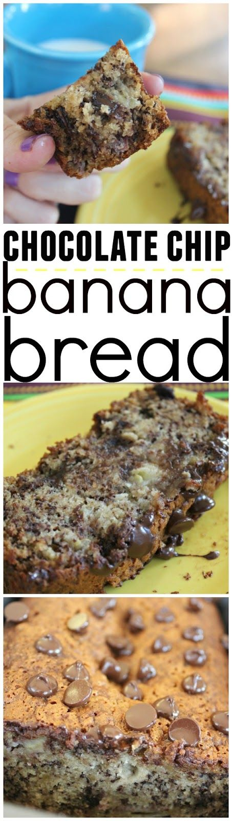 the best banana bread EVER and so easy!