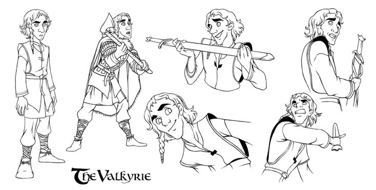The Valkyrie.Dyarvi by steamey