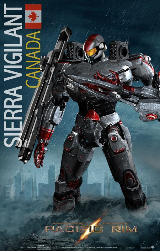 Pacific Rim Jaeger Fan Art Sierra Vigilant/ by ~rs2studios