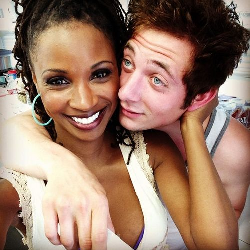 UGH STOP WHY IS THIS SO PERFECT FOR MY BOOK BYE. Jeremy Allen White as LI. Shanola Hampton as Fam (mom?)