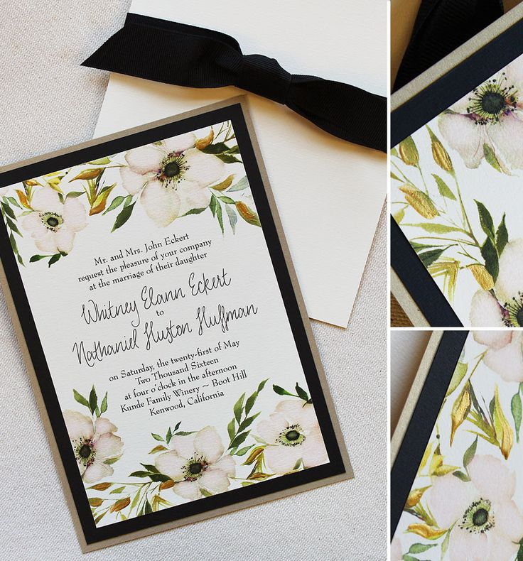 white and gold wedding invitations%0A Whitney E   Anemone Wedding Day Accessories