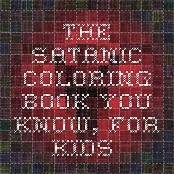 The Satanic Coloring Book