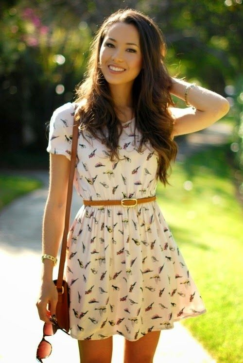 Lindos vestidos de verano | blaco de la tenpora da pasaa