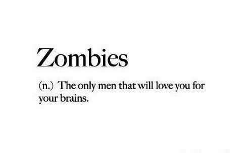 Hahah! Zombies <3