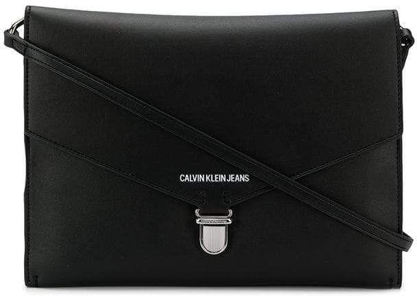 Calvin Klein Jeans Logo Print Shoulder Bag Jeans Logo