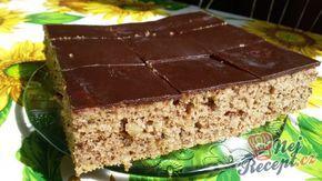 Vynikající ořechový cukeťák s kakaovou polevou | NejRecept.cz