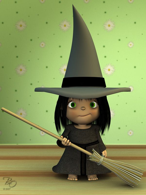 Little Witch by Eyesblue62.deviantart.com on @deviantART