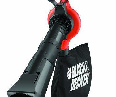 Black + Decker GW2810 Aspirateur de jardin électrique 3 en 1 2800 W: Aspirateur, souffleur, broyeur de feuilles et débris Puissance…