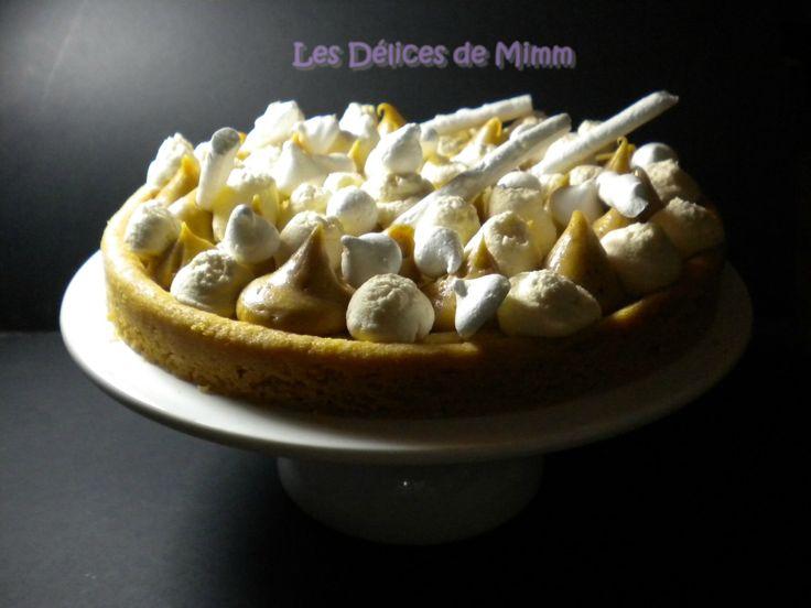 Sablé breton, crémeux au praliné et chantilly au caramel beurre salé, façon Fantastik 4