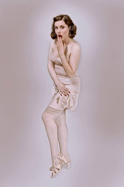 Pics: Luca Caravaggio Studio Cromosoma Model, make up, hair & styling: Miss Frances Belle for Retrorama