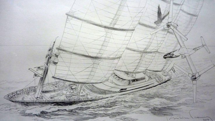 Francq illustration pour le perini navy par philippe - Dessiner un faucon ...