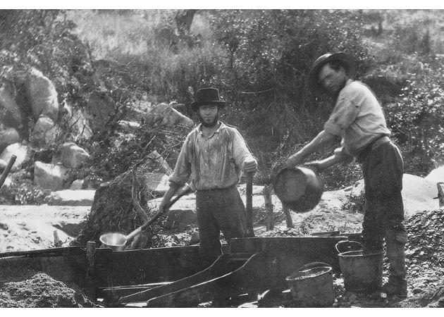 (c.1850s) Mining Scene