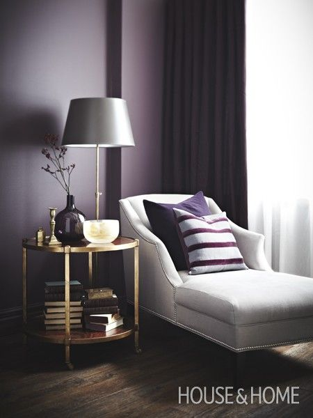 1000+ Ideas About Purple Accent Walls On Pinterest