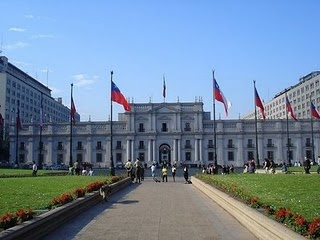 Santiago, Chile. I haven't been there since I was 5, and I can't wait to go back.
