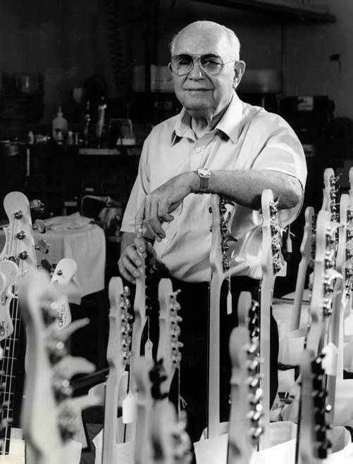 Leo Fender: Life and Legacy. Opening November 12, 2016. Fullerton Museum Center, Fullerton, California https://www.cityoffullerton.com/gov/departments/museum Leo Fender: Life and Legacy features an in-depth look at the man behind the music and includes personal items and historic artifacts never before displayed. Photo courtesy Fullerton Museum Center.