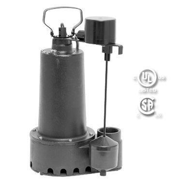 92509: 1/2 HP EFFLUENT PUMP- Cast Iron