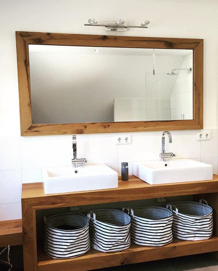 Waschtisch Passend Zum Spiegel Ebenfalls Aus Eiche Aus