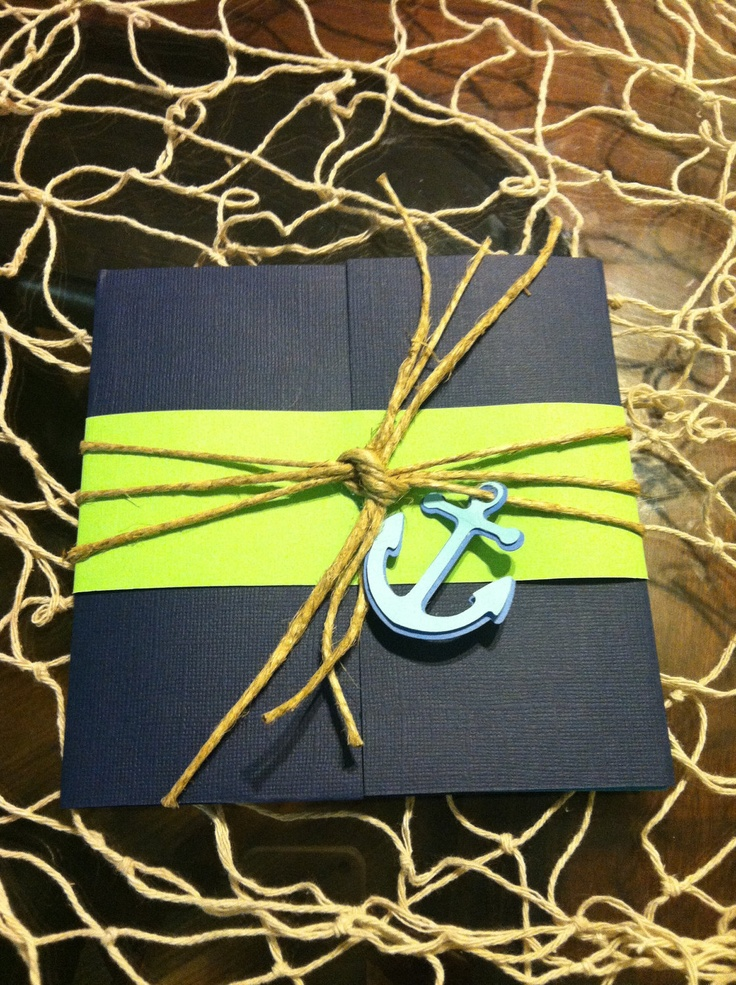 Nautical beach invitation cards for birthday parties , baby shower and more...... $5.50, via Etsy.
