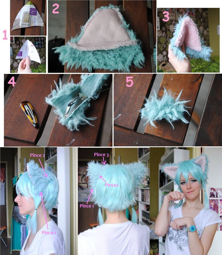 Cosplay: Cat Ears Tutorial   You seemed to enjoy my previous tutorial, so I decided to share with you my cat ears tutorial that I used for my Sinon cosplay!
