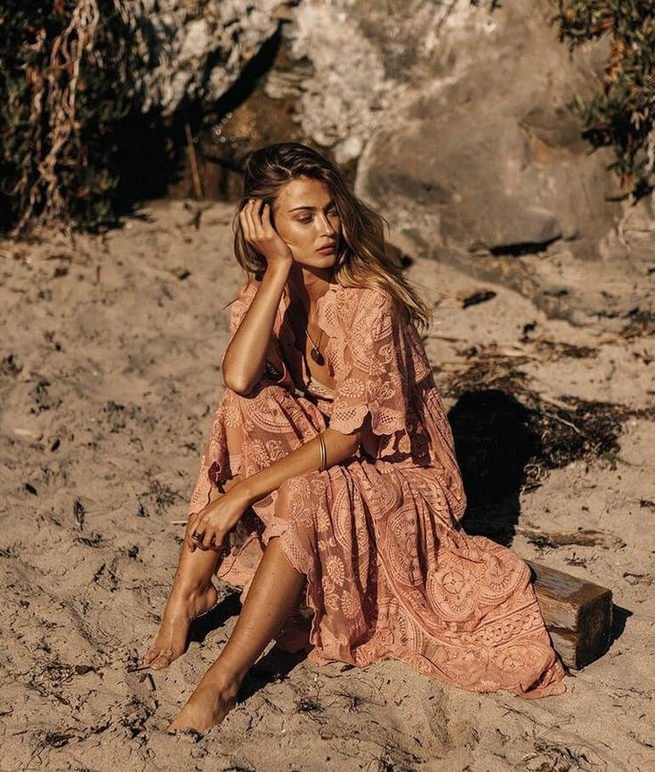 LA based boho brand Jen's Pirate Booty's fall collection features printed maxi skirts, gorgeous gowns, Cali-style kimonos, and so much more.