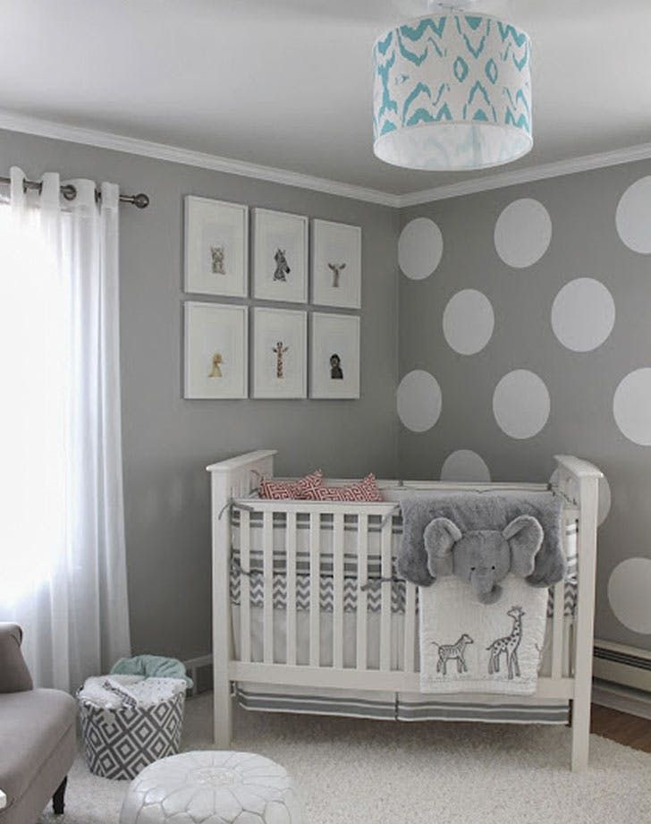 8 Gender-Neutral Nursery Decor Trends for Any Boy or Girl via @PureWow