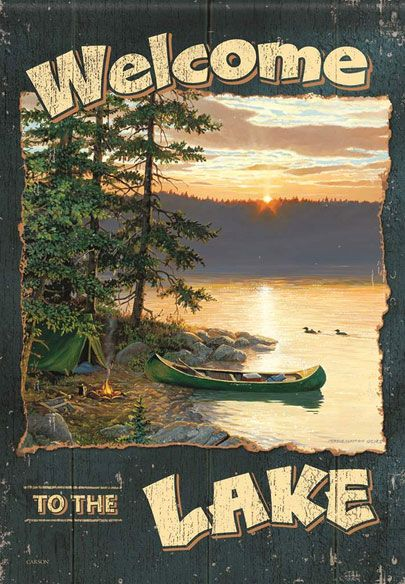 For the lakeside home or cabin.