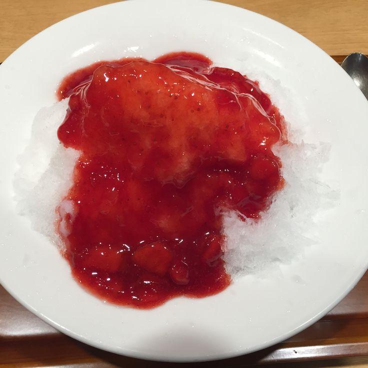 いちごカキ氷