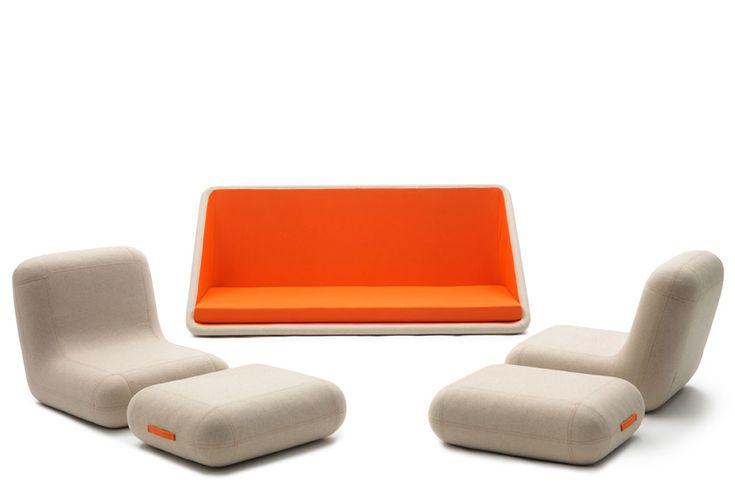 Concentré de vie - Sofa modulable de Matali Crasset pour Campeggi // © Campeggi