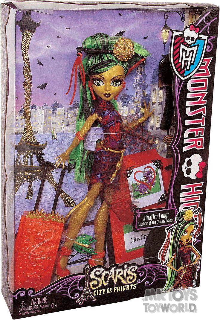 Monster High Scaris - Jinafire Long - $30