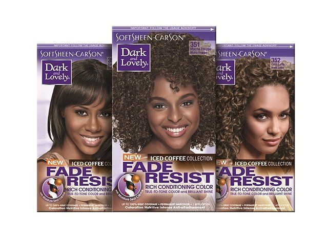 Pin for Later: 23 New Hair Products to Give You a Gorgeous, Shiny Mane Dark  and Lovely Fade Resist Iced Coffee Hair Color