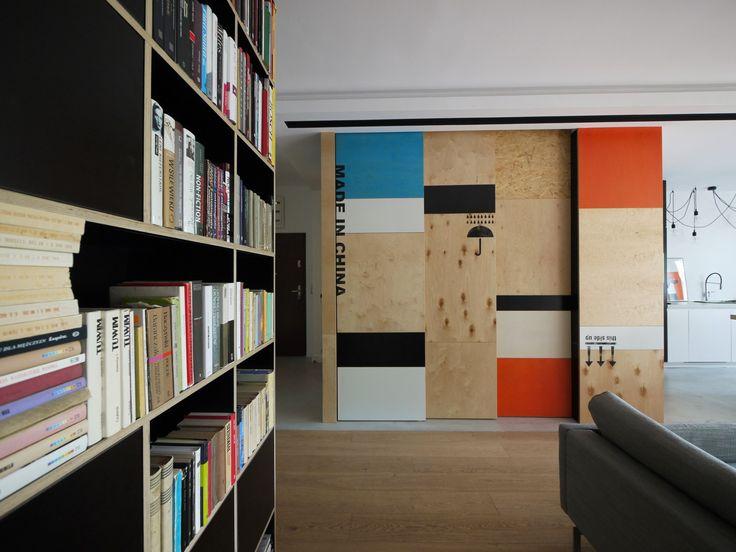 mieszkanie mokotow – indoor, pracownia architektury i wnętrz