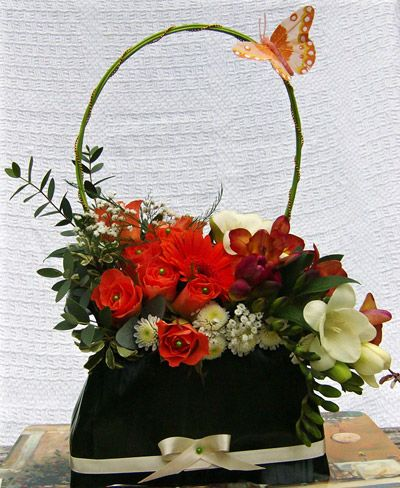 floral purse arrangements - Google Search