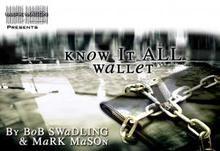 Know It All Wallet By Bob Swadling & Mark Mason (JB Magic)