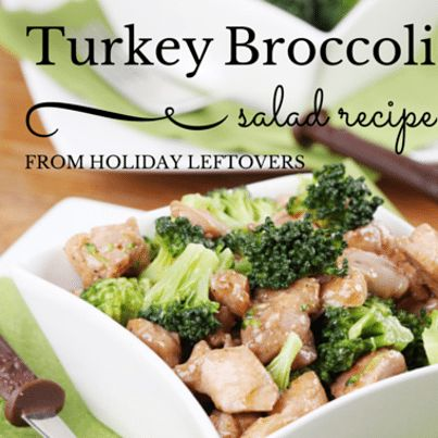 Rachael: Dr Travis Stork Broccoli & Turkey Salad Recipe + Guacamole
