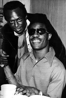 Stevie Wonder junto a Miles Davis