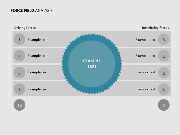 PowerPoint - Force Field Analysis Corporate