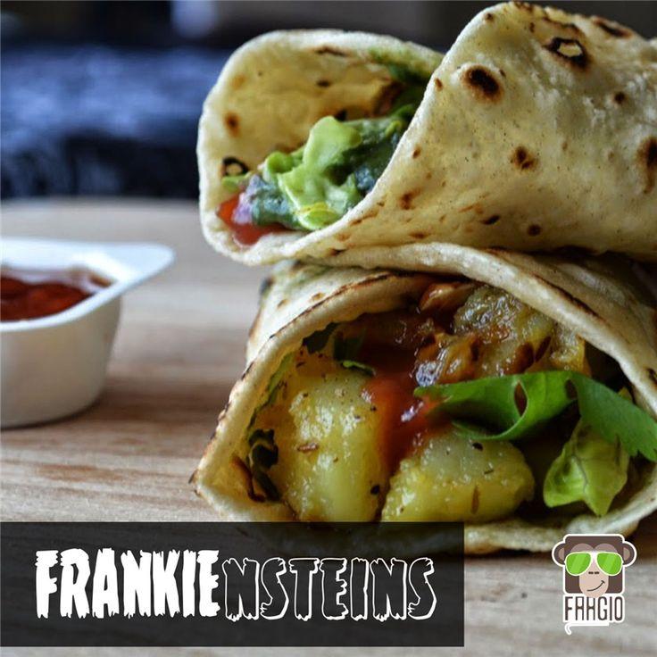 What if Frankenstein was known as Frankie-nstein...  #frankenstein #frankie #rolls #foodlovers #foodie #Faagio